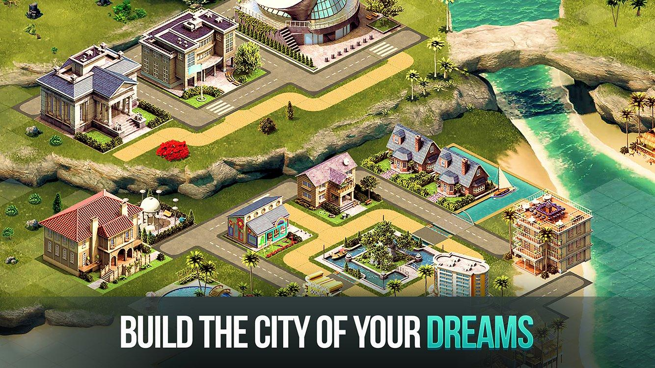 City Island 4 Sim Town Tycoon Expand the skyline MOD APK terbaru