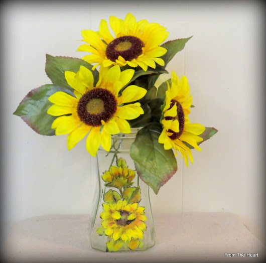 Sunflowers and Jars