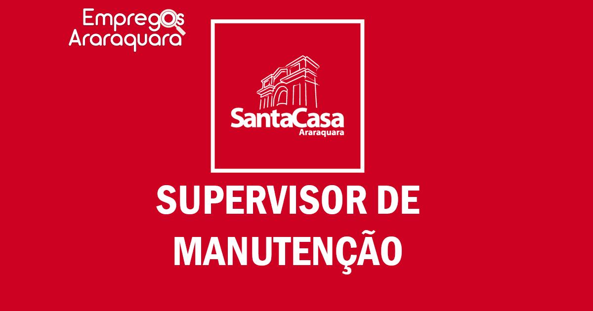 SUPERVISOR DE MANUTENÇÃO | CÓD. 3430