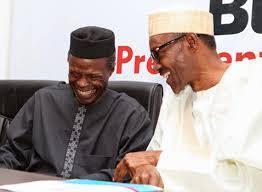 Buhari laugh