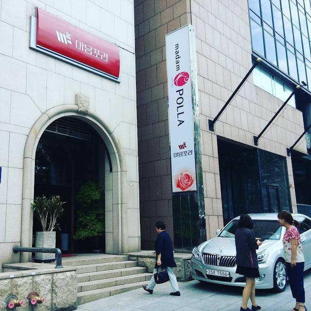 Boutique de moda Madam Polla en Seúl