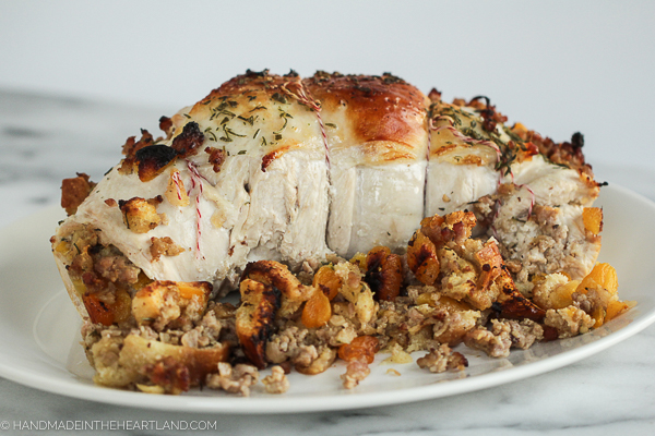 how to make a stuffed turkey breast