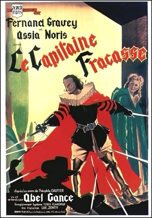 le capitaine fracasse film