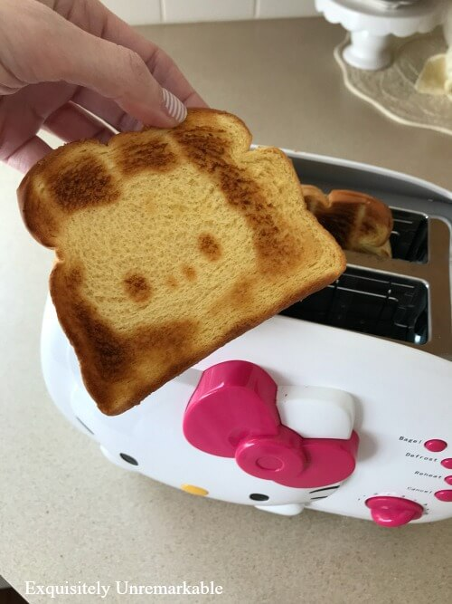 Hello Kitty Face On Your Toast