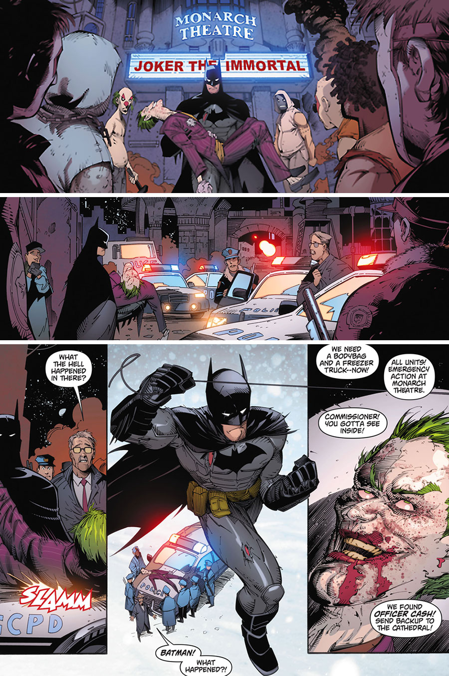 "Batman: Arkham Knight #1 - ""Death of a Rival"" (2015)"
