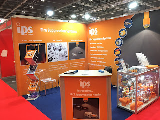 New Fire Suppression Stand For Firex International 2017 - Starts Today
