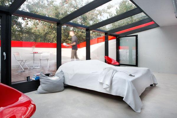 Home Design Small House Design With Glass Walls