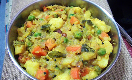 Potato masala for dosa, Dosa masala