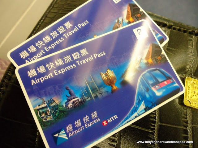 Hongkong's Airport Express Travel Pass