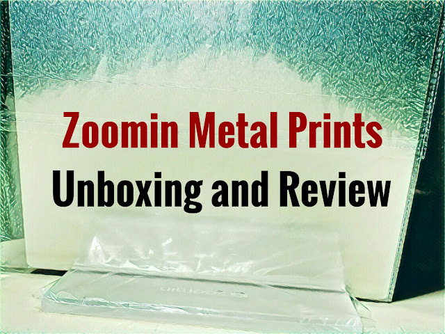 zoomin.com metal prints unboxing and review