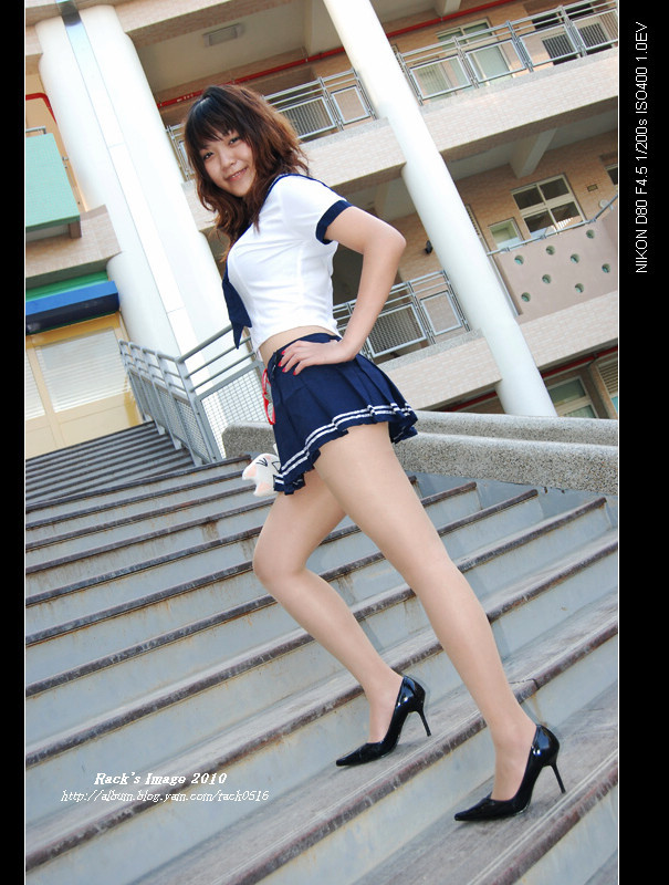 Jae Lihcs 高跟鞋 : 小獸 制服高跟 外拍