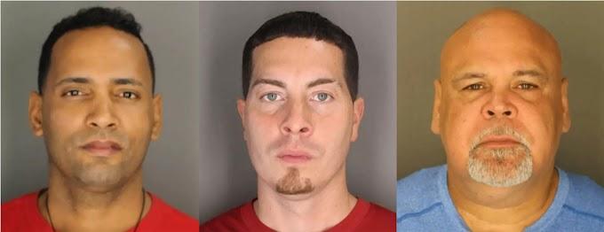 Tres dominicanos arrestados por robos de televisores en almacén  de distribución  en   Bronxville