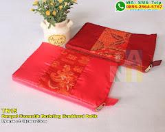Dompet Kosmetik Resleting Kombinasi Batik