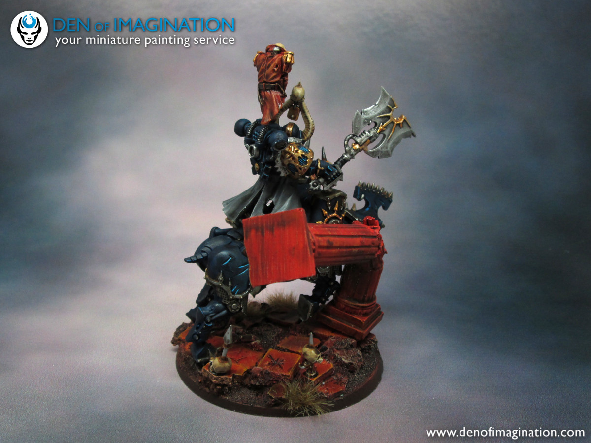 pretty nice c55f5 8ad0f I know blue Khorne.. What!  But we thought that symbols are enough and the  guy needs to be fitting to his chapter. Hopefully this is a start of a  really ...
