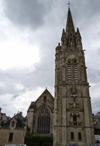 Basílica de Notre-Dame du Roncier en Josselin.