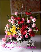 Bunga Mawar Pink Gerbera Florist Magnum Jakarta