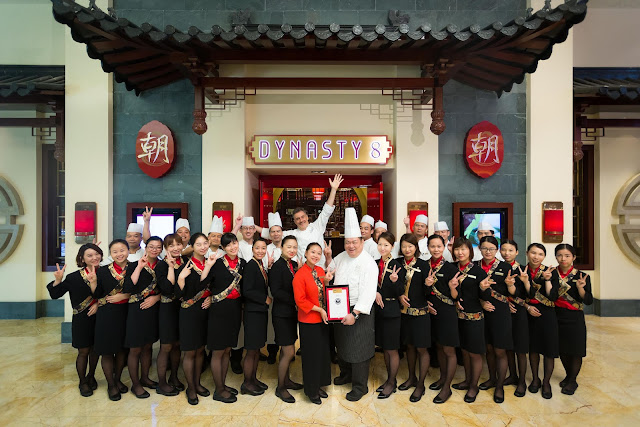 Conrad Macao's Dynasty 8 Chinese Restaurant Recognised with Prestigious Honours at Wine List Awards