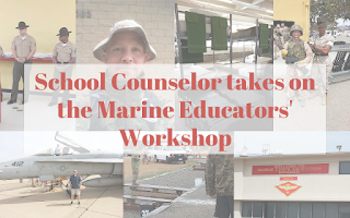 School Counselor Takes on the Marine Educator's Workshop