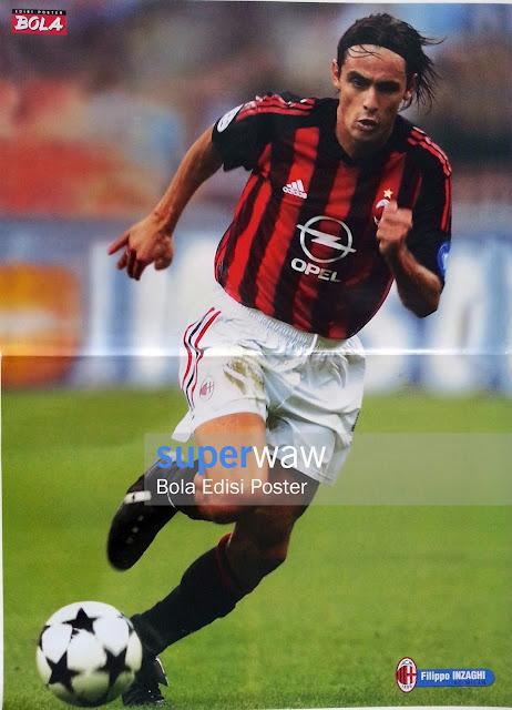 Poster Filippo Inzaghi (AC Milan)