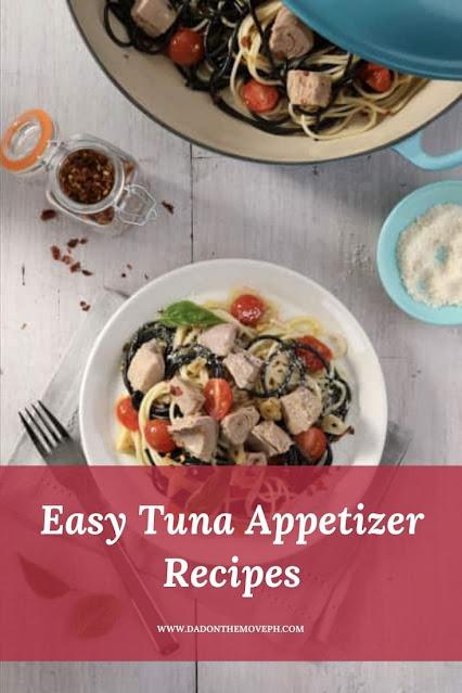 Canned tuna appetizer recipes