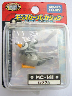 Starly Pokemon figure Tomy Monster Collection MC series