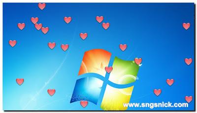 DesktopSnowOK 3.31 - Сердечки