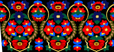 Textile Design Vector Art design 940