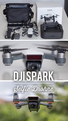 Gear Review | DJI Spark | Die neue Selfie Drohne für Blogger