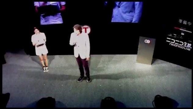 ผู้บริหารของ Koei Tecmo แถลงข่าวเกมสามก๊ก13 ในงาน TGS2014