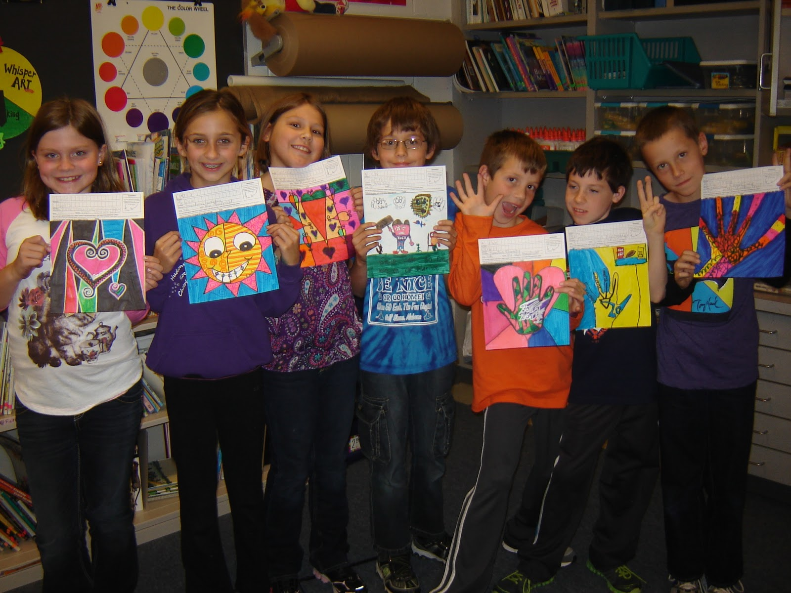 Jamestown Elementary Art Blog 4th Grade Square 1 Art