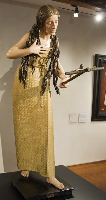 La Magdalena del Museo nacional de Escultura