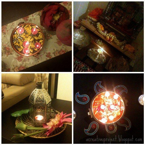 Diwali Decoration Lights Home: A Creative Project: Diwali Decorations
