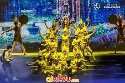 show Đà Nẵng quyến rũ - Charming Danang