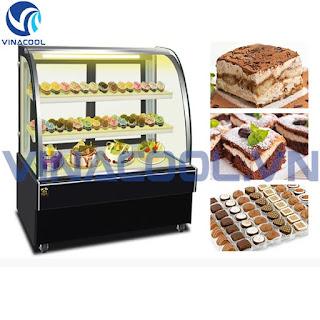 tủ trưng bày bánh kem vinacool
