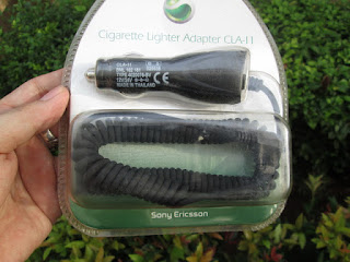 Charger Mobil (Saver) Sony Ericsson CLA-11 T28 T39 R310 R520 Packing