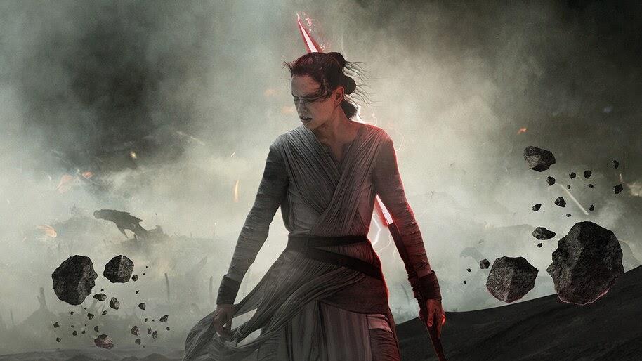 Dark Side Rey Star Wars The Rise Of Skywalker 4k Wallpaper