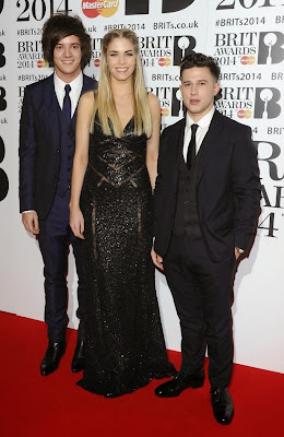 London Grammar BRIT AWARDS 2014