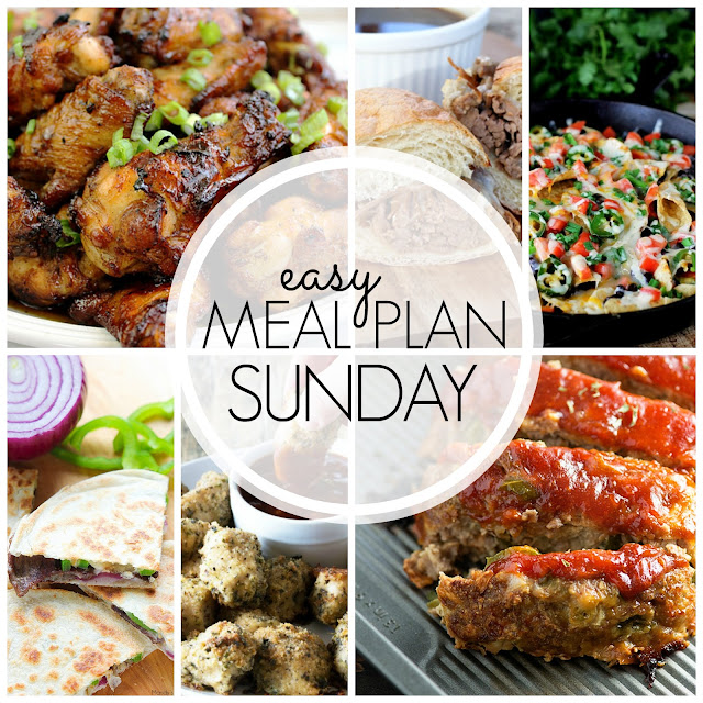Easy Meal Plan Sunday - Week 52