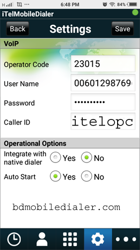 mobile dialer re-seller 8801710956008: itel dialer plus operator code