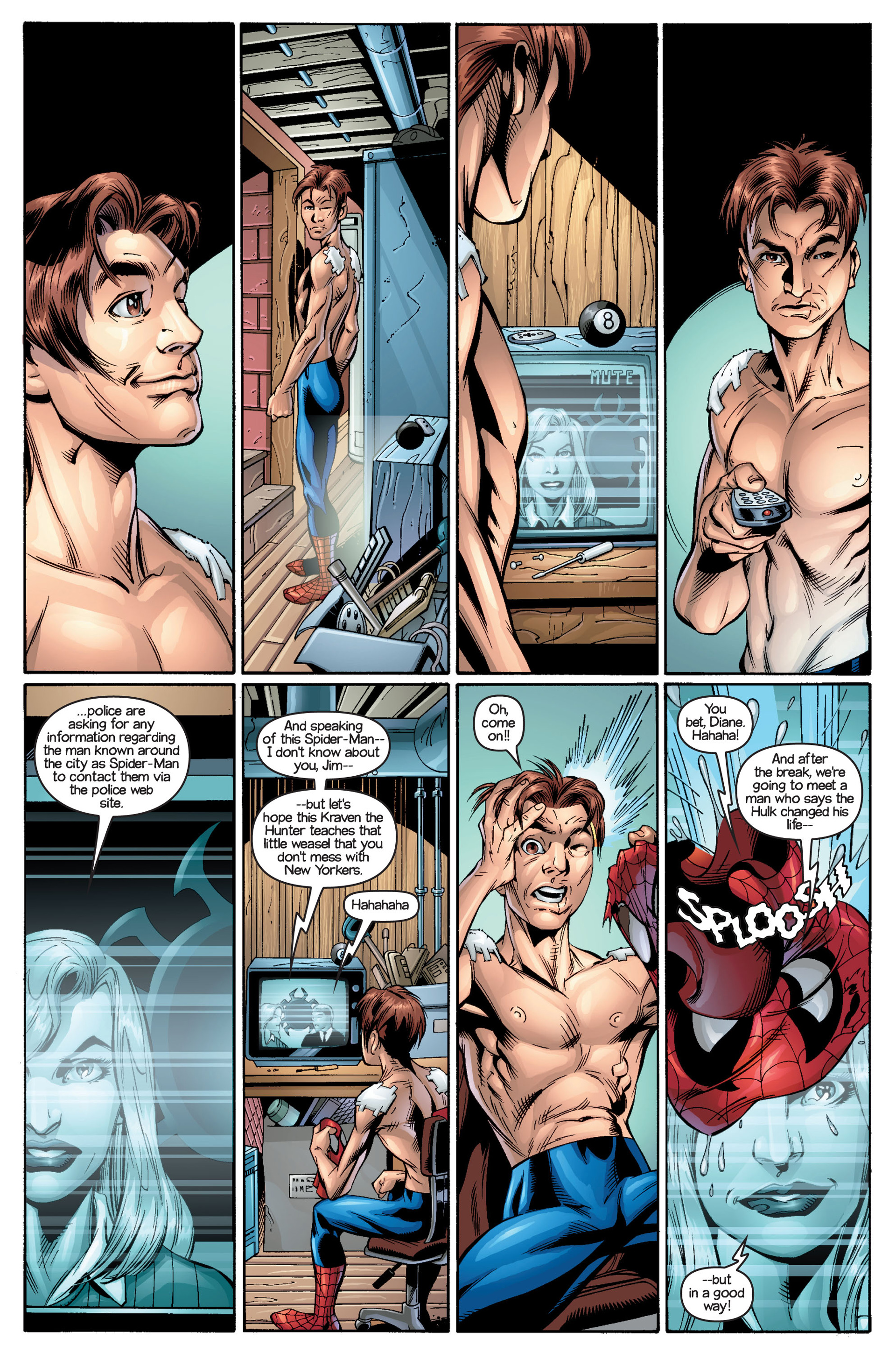 Read online Ultimate Spider-Man (2000) comic -  Issue #18 - 18
