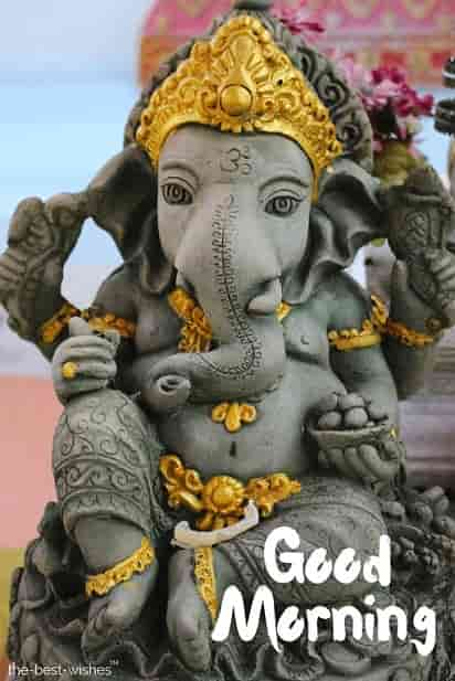 good morning god ganesh images