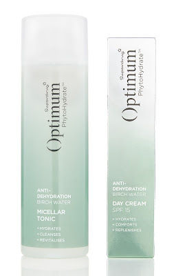 Optimum PhytoHydrate Anti-Dehydration Birch Water Micellar Tonic & Day Cream SPF15