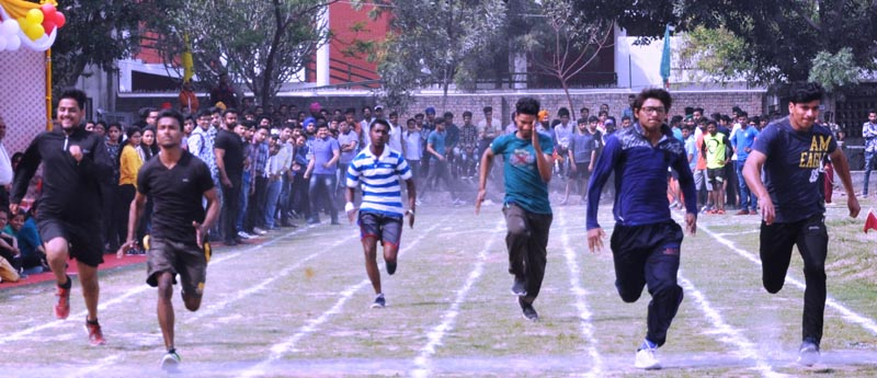 Students participate in Annual Athletic Meet of Arya College