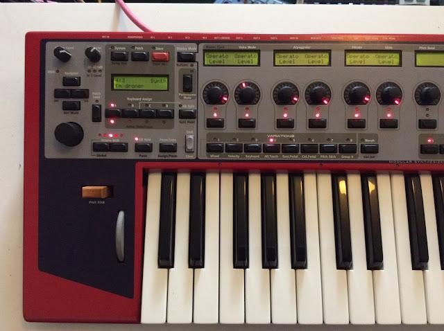 matrixsynth clavia nord modular g2 modular synth keyboard. Black Bedroom Furniture Sets. Home Design Ideas