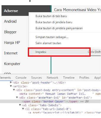 Edit Element Google Chrome