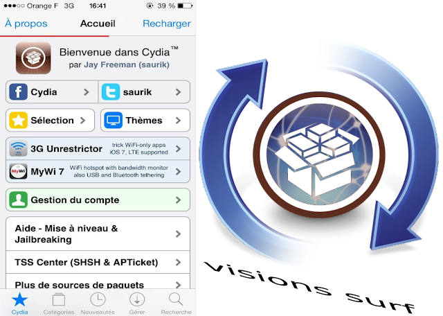 installer cydia iOs sans jailbreak