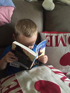 Little T reading