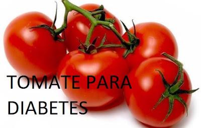tomate alivia la diabetes