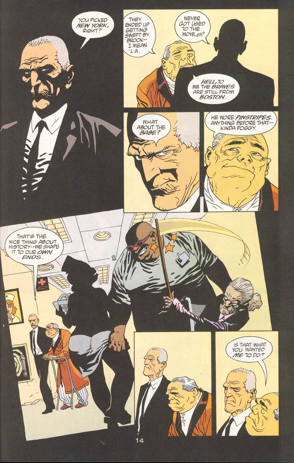 Read online 100 Bullets comic -  Issue #27 - 16