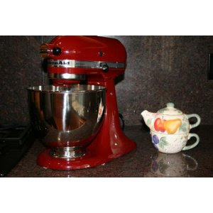 KitchenAid KSM150PSGC Artisan Series 5-Quart Stand Mixer Gloss Cinnamon